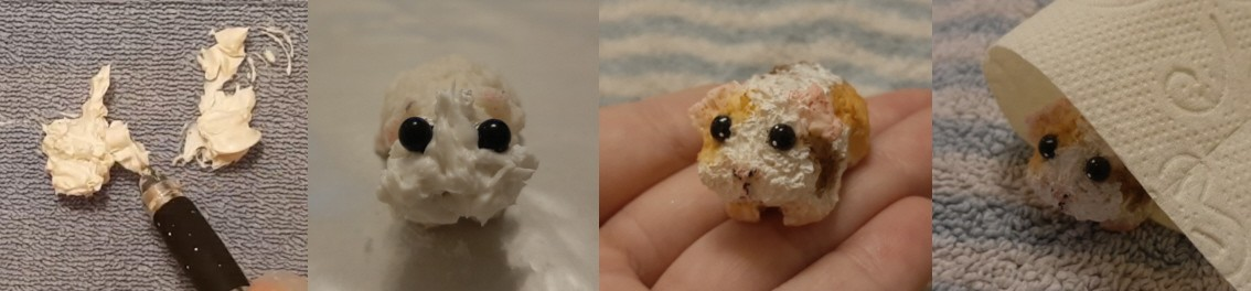 kleine geformte Meerschweinchen und Nager